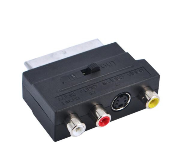RCA / SVHS to SCART Adapter