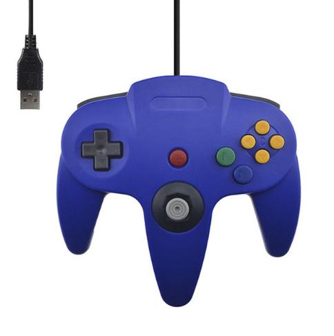 N64 USB Controller - Blauw