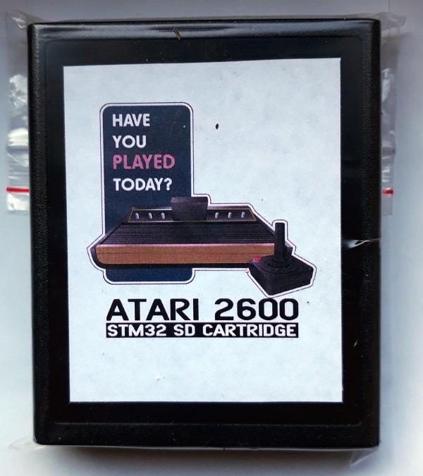 Atari 2600 SMT32 SD Card Adapter
