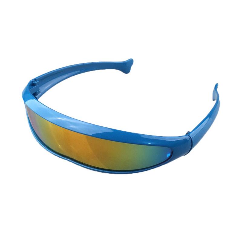 Snelle Planga Zonnebril - Zeer Vlotte Robocop 2045 Blauw