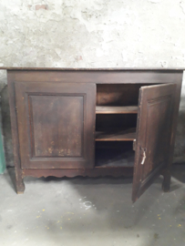 Oude keukenkast