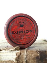 Oud blikje Euphon