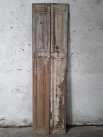 Dubbelluik 56x210,5cm