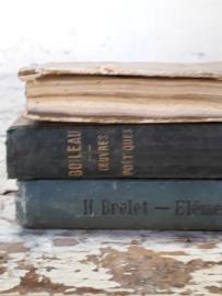 3 oude franse boekjes