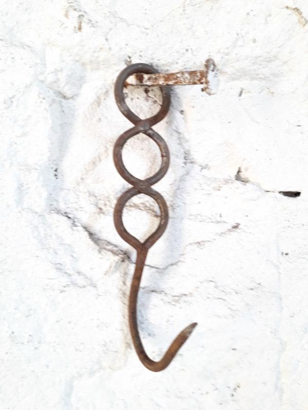 Oude franse haak 14cm