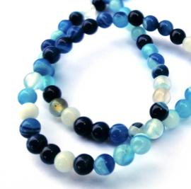 Agaat blauw (4 mm)