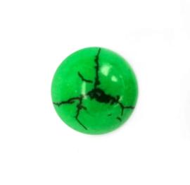 Howliet groen 15 x 6 mm cabochon