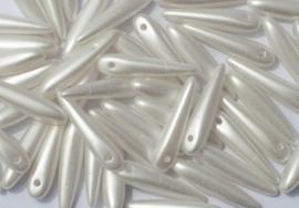PRECIOSA Thorn™ 25E01 5 x 16  mm  wit 10 st.