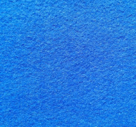 Vilt blauw 295 x 210 mm (3 mm)