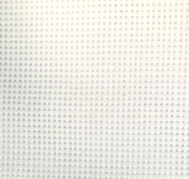 Katoen borduurstof  wit 24 x 18 cm