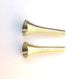 Tussenstuk  zilverkleur 25 x 9 mm (2st.)