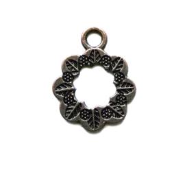Metalen hanger bloem 15 mm