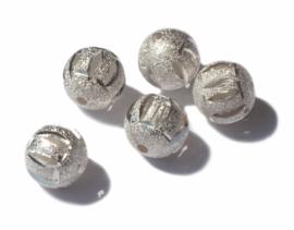 11 mm Zilverkleur tussenstuk 3 st.