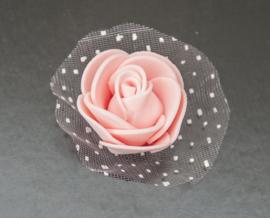 Schuimroos roze ca. 3,5 cm