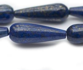 Lapis Lazuli 30 x 10 mm (per stuk)