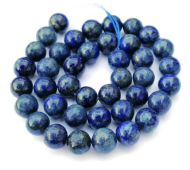 Lazuriet (Lapis Lazuli)  kralen (10mm)