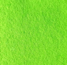 Vilt lime groen 295 x 210 mm (3 mm)