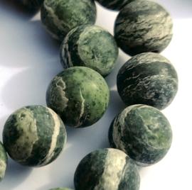 """Jasper """"Frosted"""" groen (8 mm)"""
