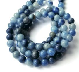 Blauwe Aventurijn kralen 8 mm