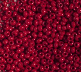 Tsjechische PRECIOSA Rocailles 07/0 93210 bordeauxrood 50 g.