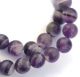 """Amethyst """"Frosted"""" (8 mm)"""