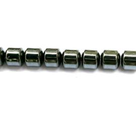 Hematiet cilinder 5 x 5 mm