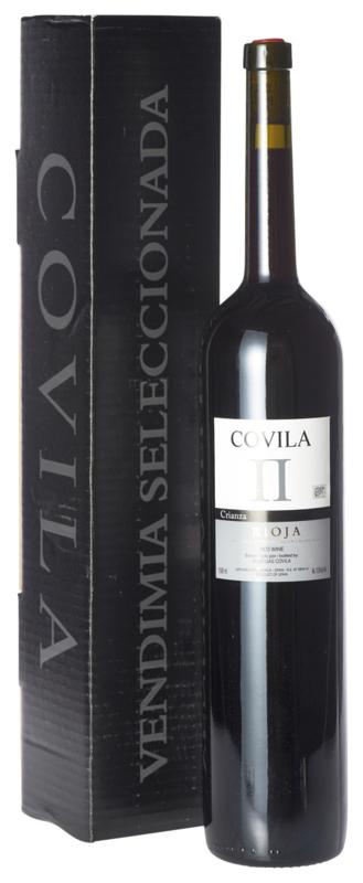Covila II - Rioja Crianza Magnum in geschenkdoos