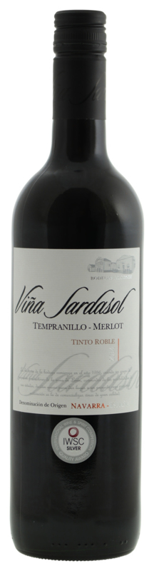 Viña Sardasol - Tempranillo Merlot Roble