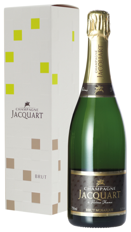 Jacquart Champagne Brut in geschenkverpakking