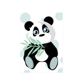 Jungly jungle - Panda poster -  A4/A3