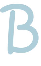Letter muurstickers (2) - Keuze uit A t/m Z - 4 kleuren beschikbaar
