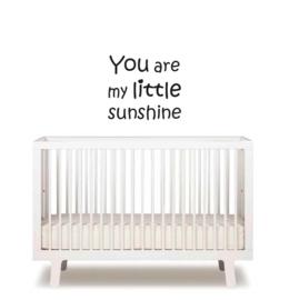 Tekst muursticker - You are my little sunshine