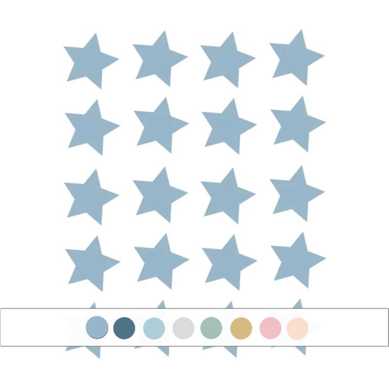 My little rainbow - Sterren muurstickers 20st (Diverse varianten)