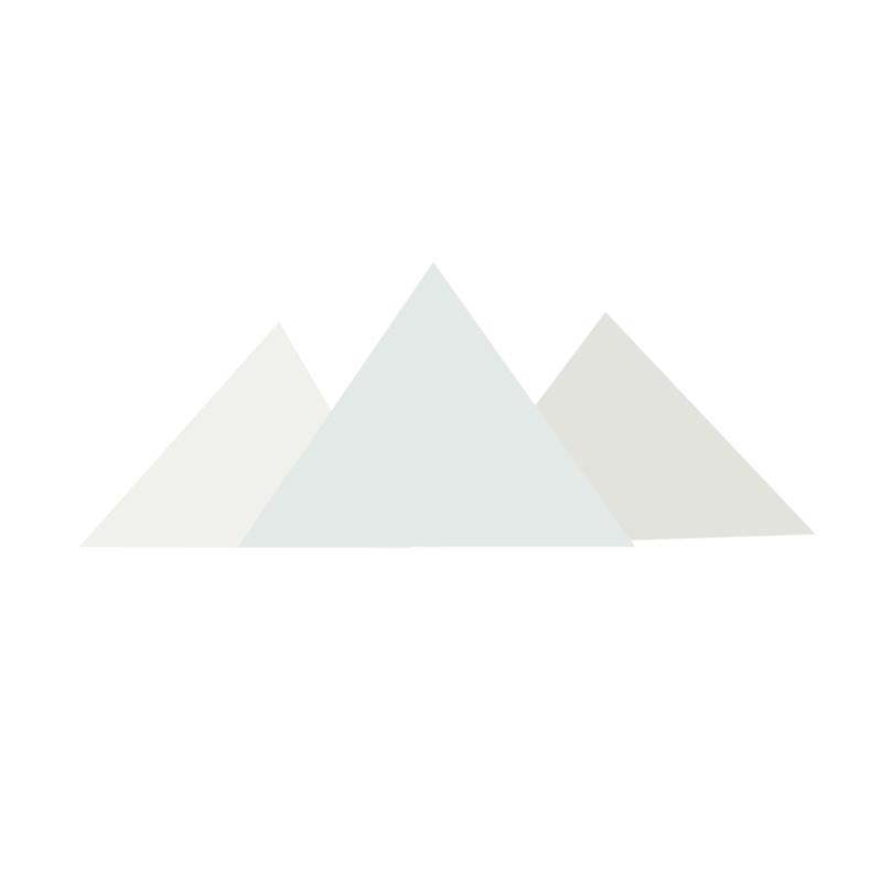 Diamond Forest Friends - Bergen muurstickers