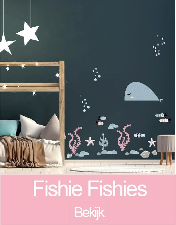 Fishie Fishies muursticker collectie