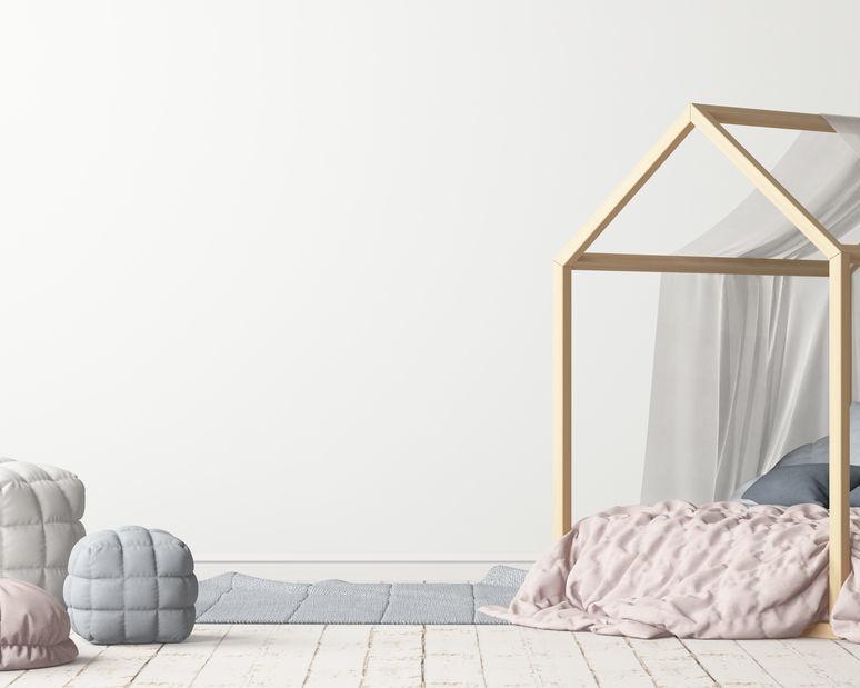 Babykamer in scandinavische stijl