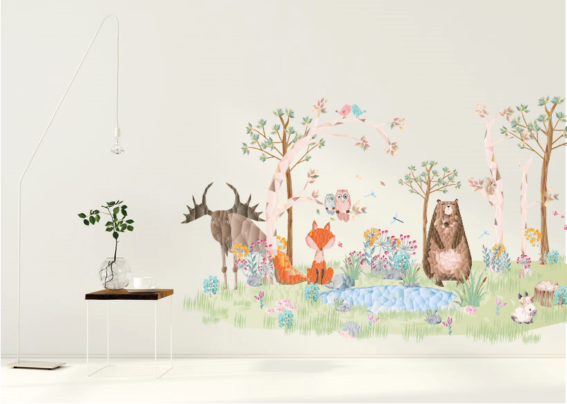 De Diamond Forest Friends collectie