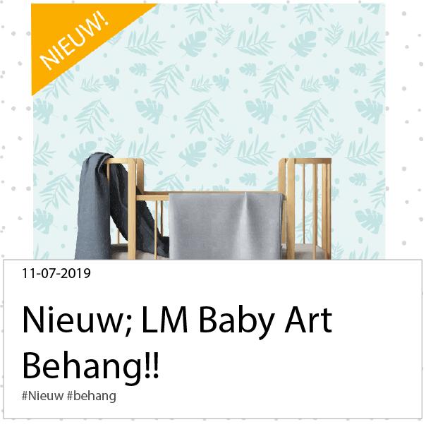 Nieuw; LM Baby Art behang!
