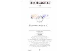 Nederland Importa EDB11 (NVPH 1268-1269) Eerstedagblad Waddengebied 1982