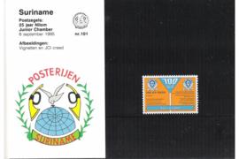 Zonnebloem nr 101-nr 257 XX Postzegelmapjes (Presentatiemapjes PTT)