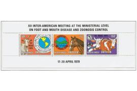 Nederlandse Antillen NVPH 624 Postfris Blok P.A.H.O. 1979