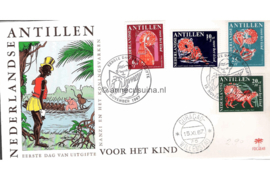 (Palmboom) NVPH E48 Kinderzegels, Nanzi verhaal 1967