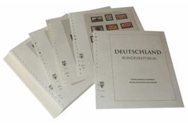Lindner Inhouden / T-Voordruk albumbladen met folie voorbladen met stroken (Inhoud) Bondsrepubliek Duitsland 1990-1994 in kleur (41 bladen) (Lindner 120B-90)
