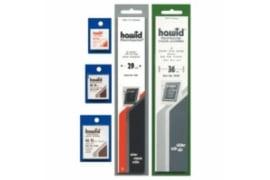 Hawid Superlange (SL) Klemstroken nr. 2208 glashelder assortie (startpakket) 265 x 80-110 mm (7 stuks)