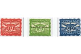Nederland NVPH LP1-LP3 Ongebruikt Allegorische voorstelling 1921