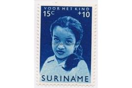 NVPH 400 Postfris (15 + 10 cent) Kinderzegels, meisjes van verschillende volksstammen 1962