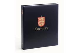 DAVO Luxe band postzegelalbum Guernsey (zonder nummer) INCL. LUXE CASSETTE