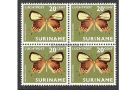 NVPH LP48 Postfris (20 ct) (Blokje van vier) Vlinders 1972