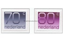 NVPH 1117-1118 Postfris Cijferserie (Crouwel-zegels) 1991