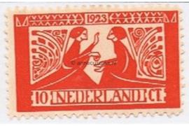 Nederland NVPH 135 Ongebruikt (10 + 5 cent) Tooropzegels 1923
